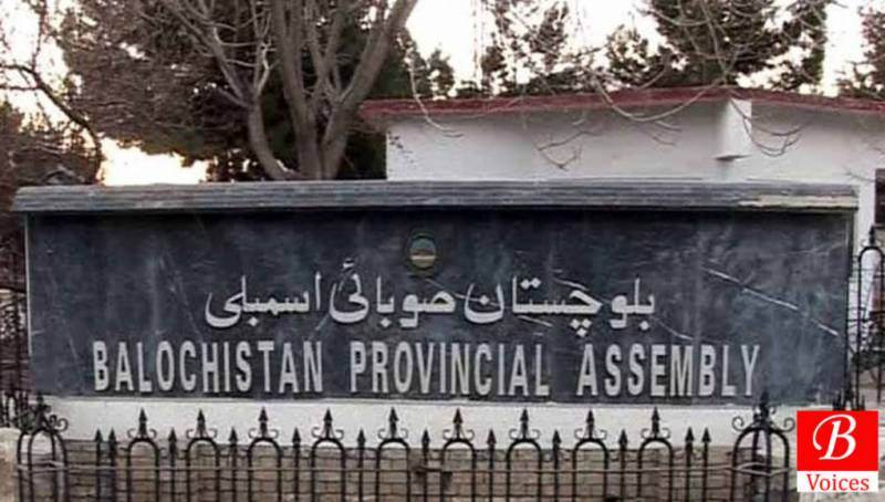 Balochistan Assembly makes record legislations in two years