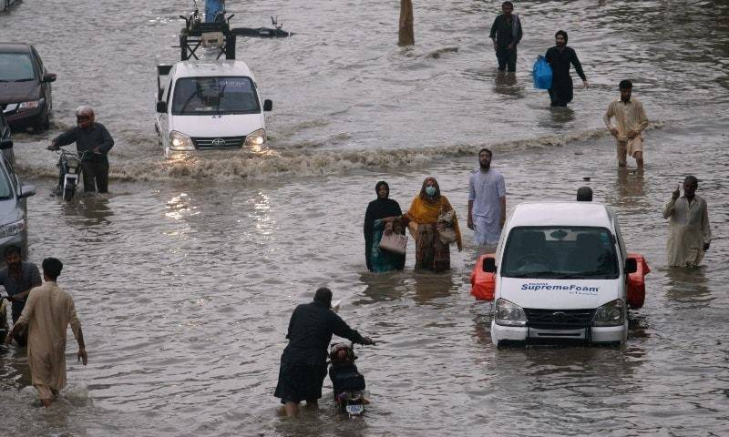 Cleaning operation in rain-hit Karachi to be launched in Sept, says PTI minister