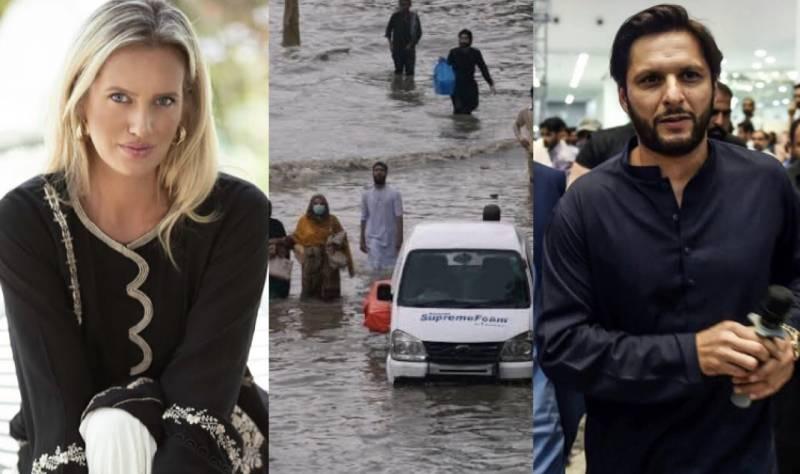 Celebs concerned over heavy rainfall in Karachi