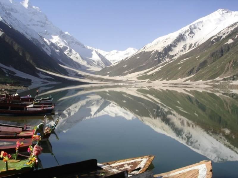 Boating banned in Pakistan's Lake Saiful Malook