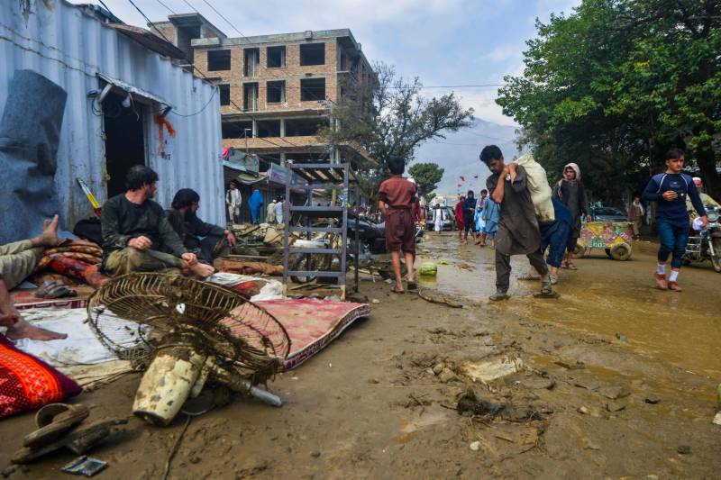 Floods in northern Afghanistan leave at least 100 dead