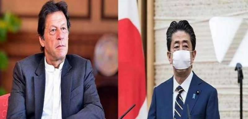 PM Imran conveys best wishes for ailing Japan's Shinzo Abe; praises his leadership