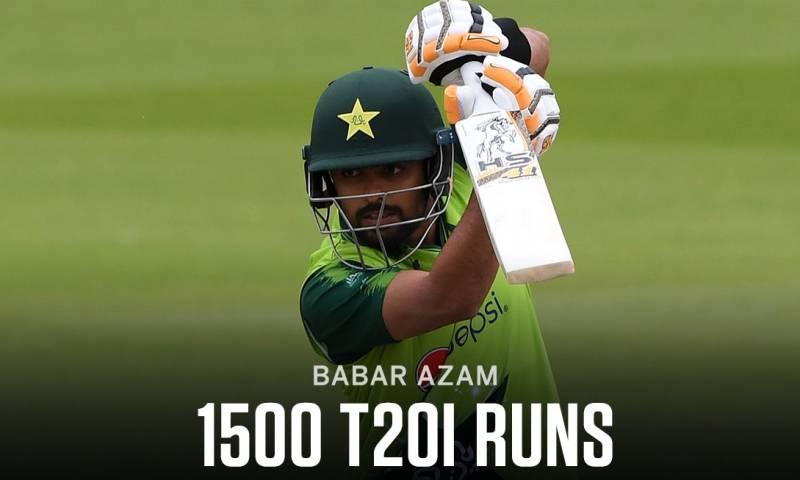 Pakistan's Babar Azam equals Kohli, Finch's T20I record