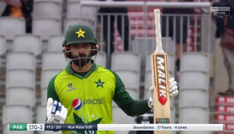 Mohammad Hafeez becomes second Pakistani player to score 2,000 T20I runs