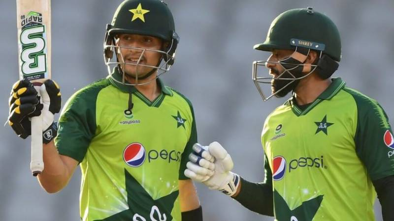 Haider Ali becomes first Pakistani to score fifty on T20I debut