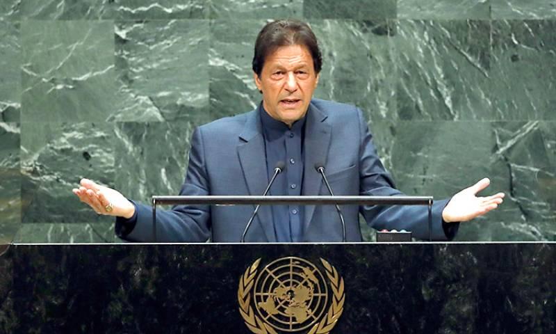 PM Imran to address UNGA session on Sept 25