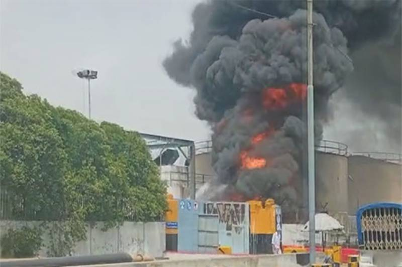 2 dead, petrol supply across Pakistan interrupted after Karachi terminal blaze