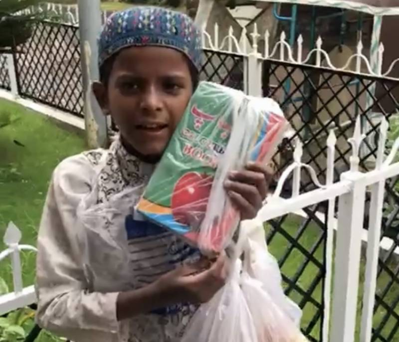 10-year-old boy's video of reciting Naat takes the internet by storm