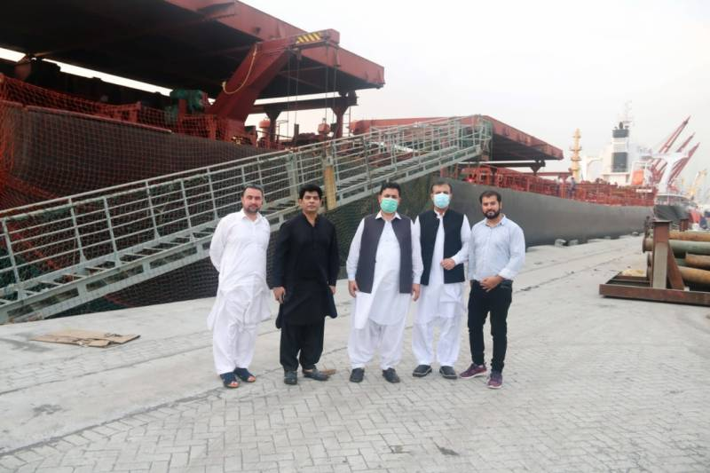 Second Wheat Imported Vessel Discharged