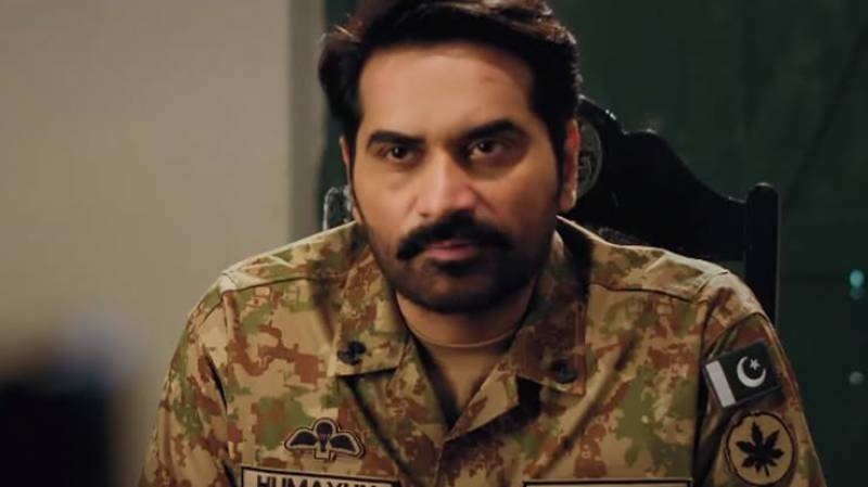 Humayun Saeed recalls the first time he played the role of an Army officer
