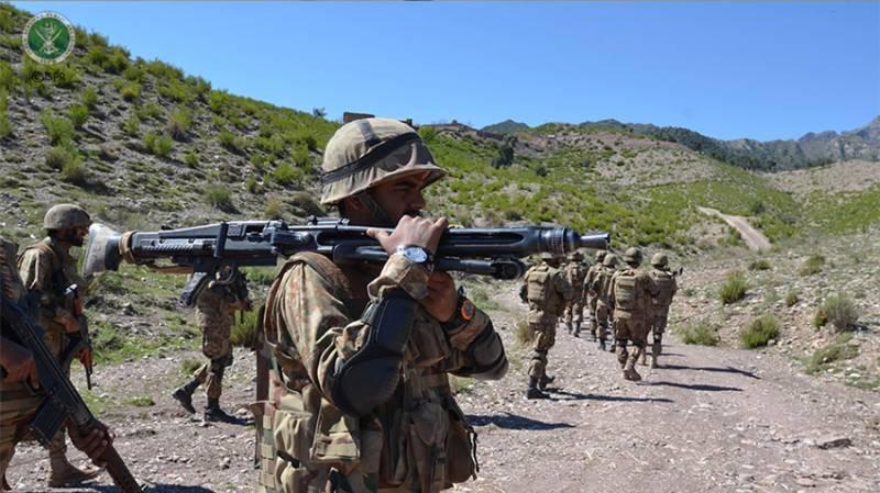 Key militant commander among five killed in N. Wazirisan operation: ISPR