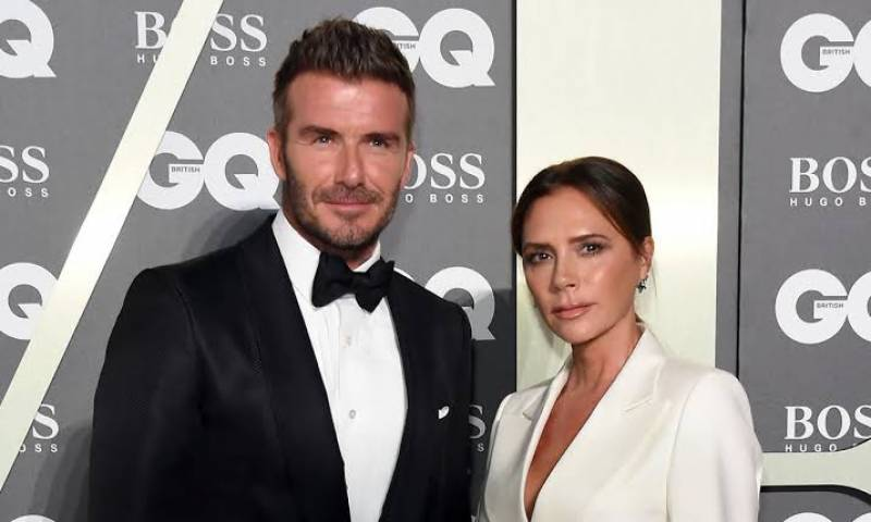 David and Victoria Beckham 'contracted coronavirus while partying in LA'