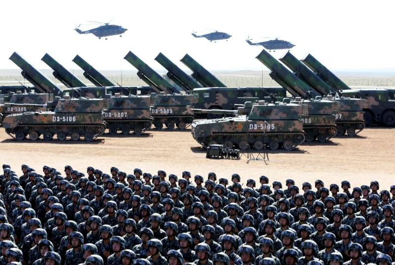 China deploys bombers, air defense troops near Indian border