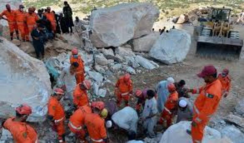 Death toll from a collapsed mine in NW Pakistan rises to 22
