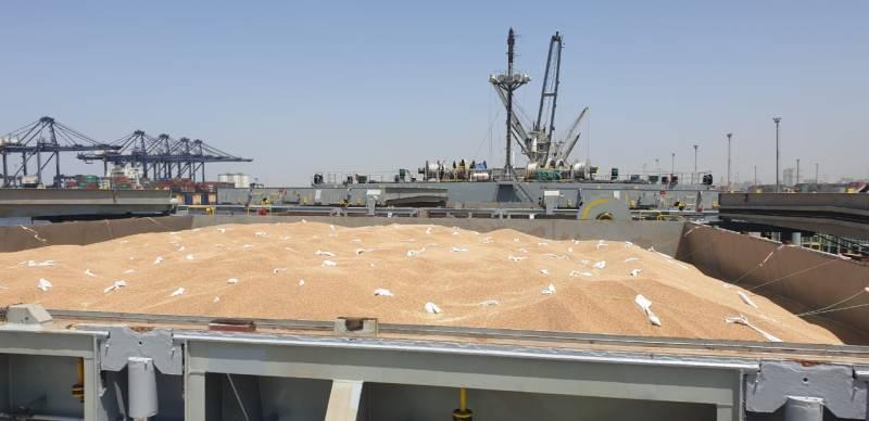 69,000 Tons More Wheat Reached Karachi Port