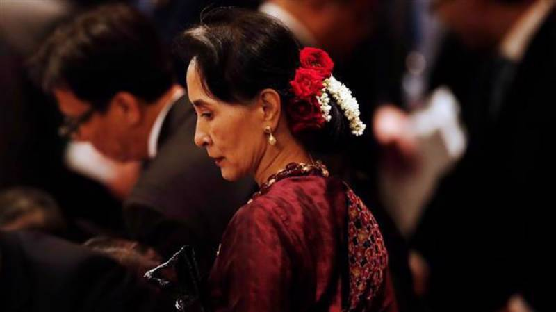 EU Parliament suspends Aung San Suu Kyi from HR prize community