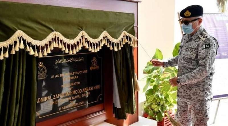 Pakistan Navy chief visits new installations in Balochistan