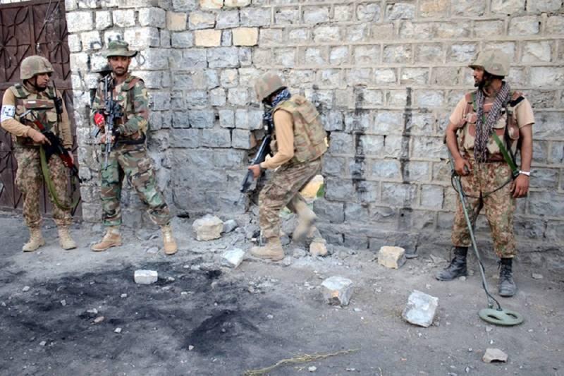 TTP commander among 4 terrorists killed in Waziristan operation: ISPR