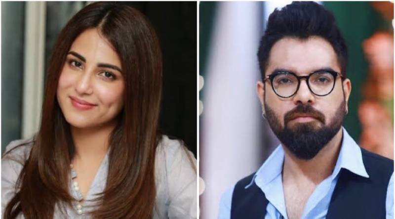 Ushna Shah lauds Yasir Hussain for his efforts in arranging the anti-rape protest
