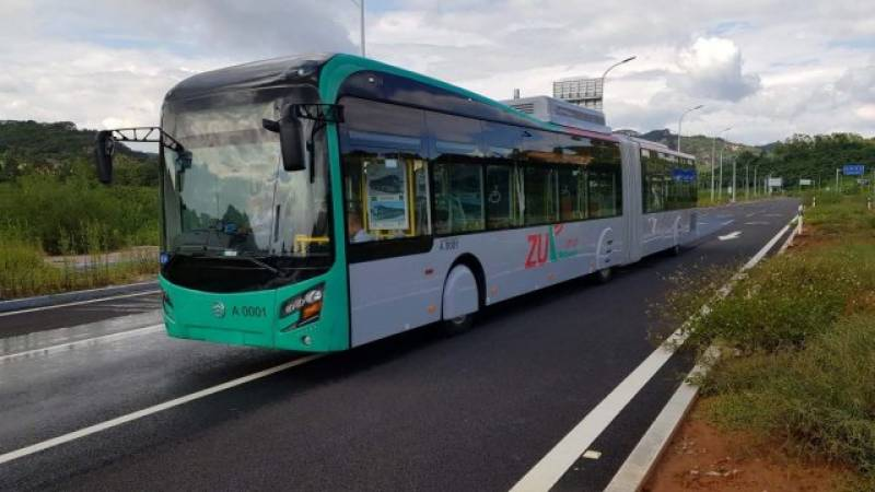 Peshawar BRT service to resume after clearance by Chinese experts