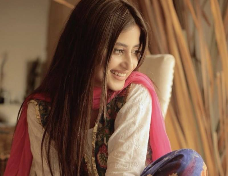 Sajal Aly exudes major traditional vibes in latest photo and fans are in love