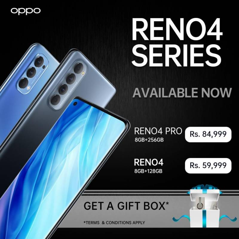 OPPO Reno4 Series available now in Pakistan
