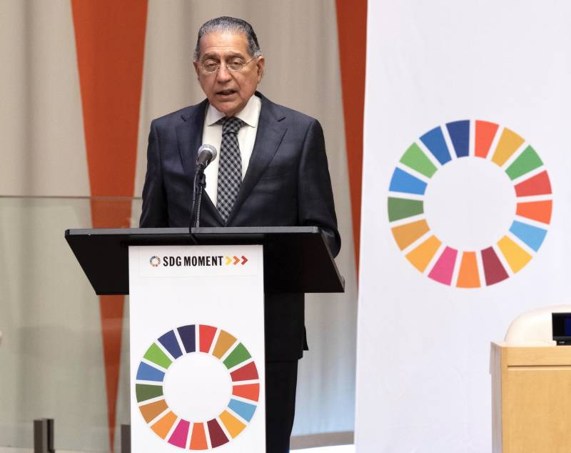 Pakistan's UN envoy Munir intensified efforts to accomplish Sustainable Development Goals