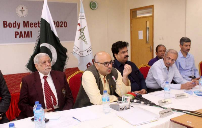PAMI elects Prof Dr. Chaudhry Abdul Rehman as new president