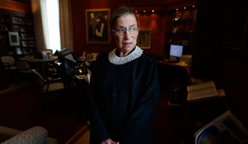 US Supreme Court Justice Ruth dies at 87