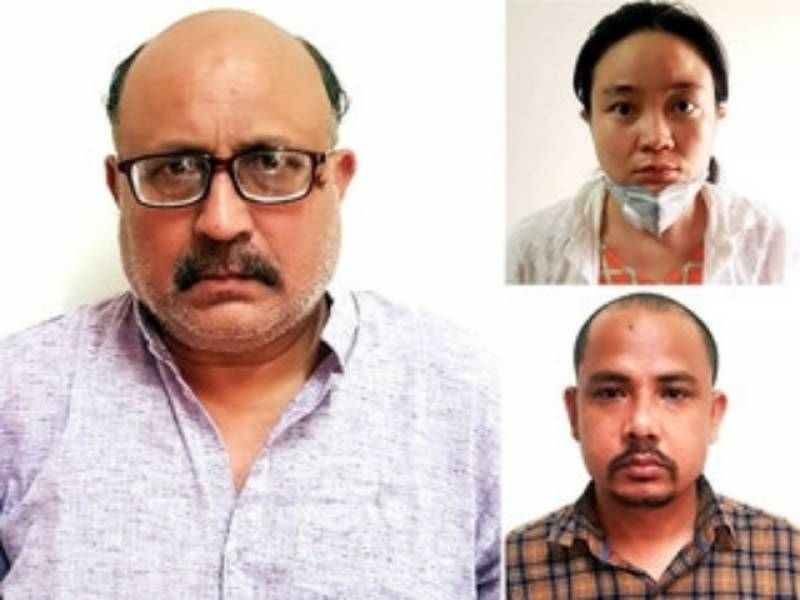 Indian journalist arrested for 'passing sensitive information to China'