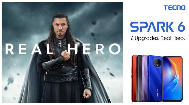 TECNO's launches Hero Phone Spark 6 in Pakistan