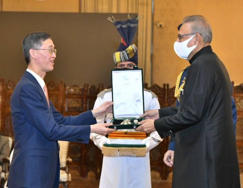 Outgoing Chinese ambassador Yao Jing receives Hilal-e-Pakistan award – VIDEO