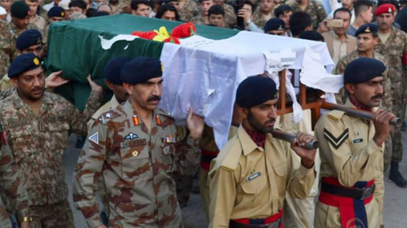Pakistan Army soldier martyred in Afghan cross-border fire