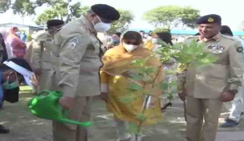 Pakistan Army joins national polio, tree plantation campaigns