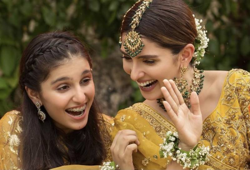IN PICTURES: Ayeza Khan with her little sister