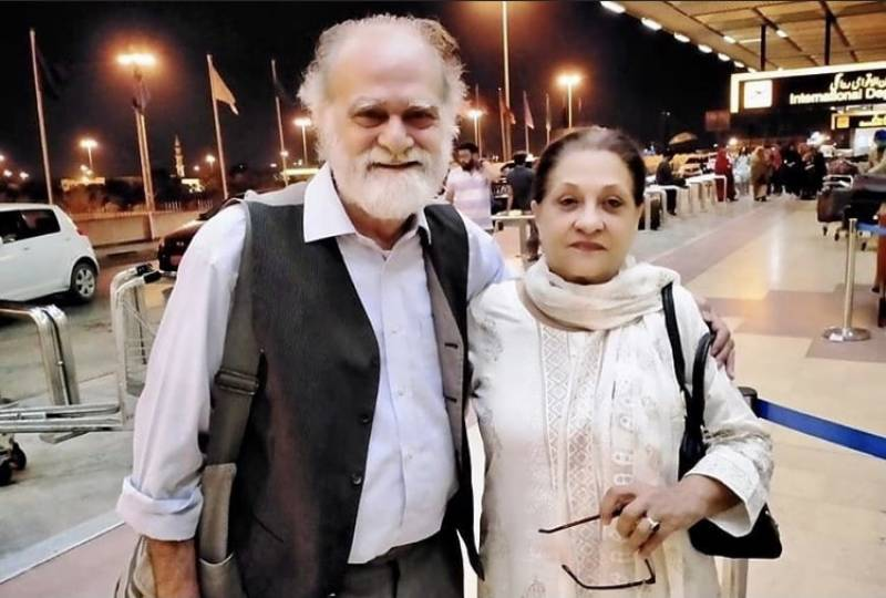 Manzar Sehbai is headed to Germany with his soulmate Samina Ahmed