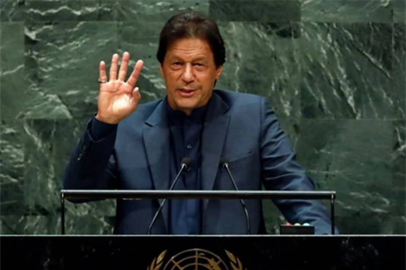 UN speech — PM Imran cautions world against rising tide of Islomophobia