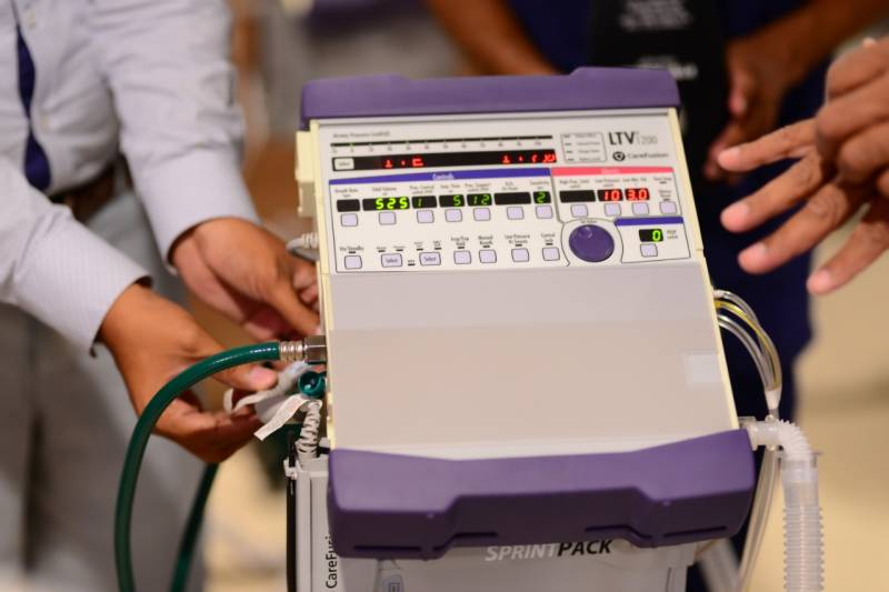 Sindh receives 52 US ventilators to fight COVID-19