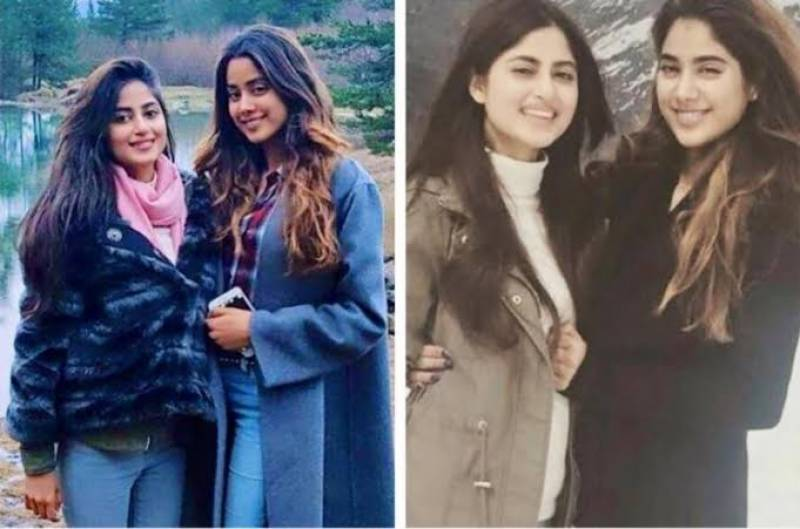 Sajal Aly and Janhvi Kapoor send each other love on Instagram