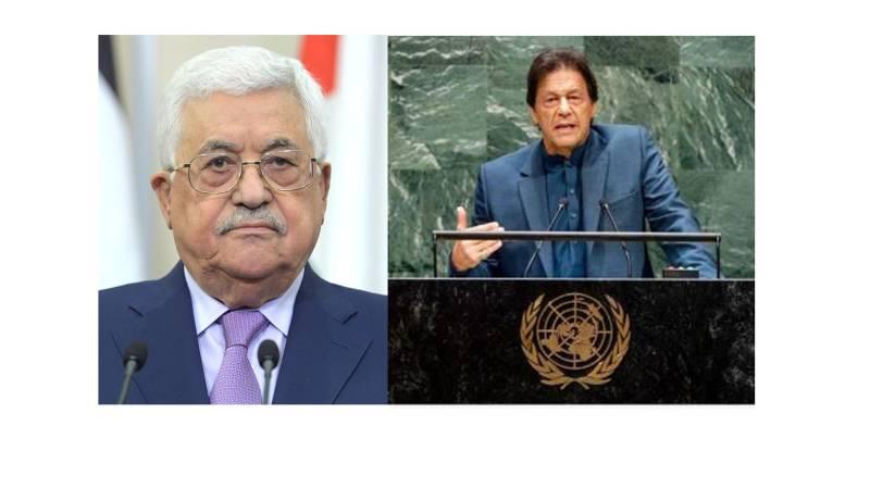Palestine appreciates PM Imran Khan's UN speech