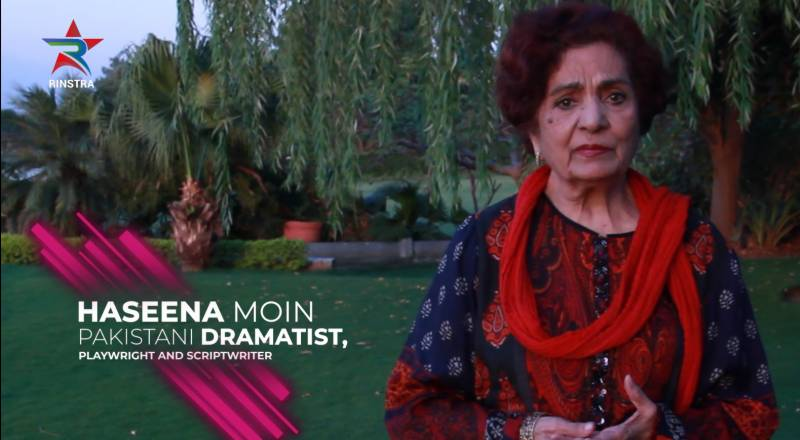 Haseena Moin to write a special web-series on breast cancer awareness for the RINSTRA platform
