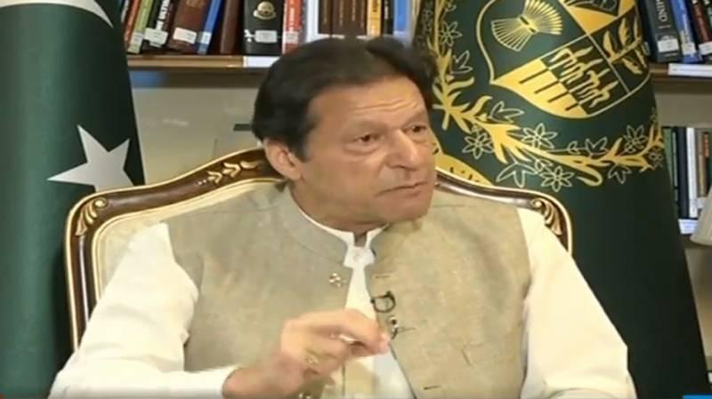Nawaz Sharif playing dangerous game to weaken Pakistan Army: PM Imran
