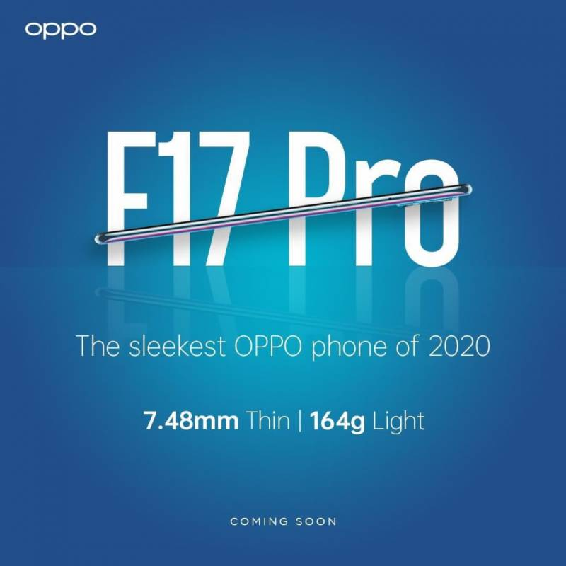 OPPO set to launch OPPO F17 Pro on October 12