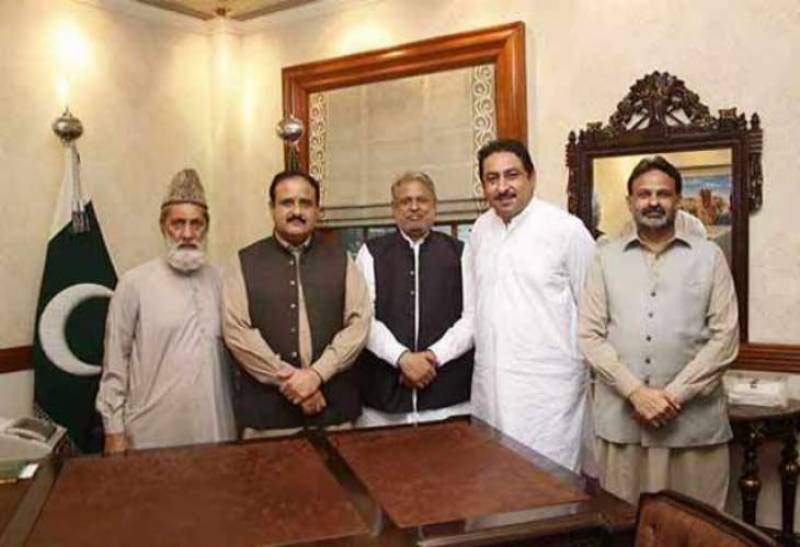 PML-N expels 5 lawmakers from party for meeting Punjab CM