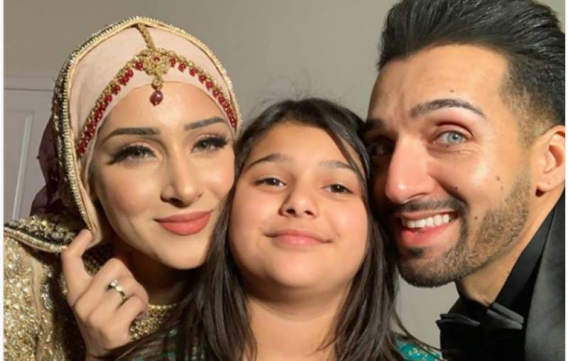Shaam Idrees introduces his eldest daughter Dua Idrees