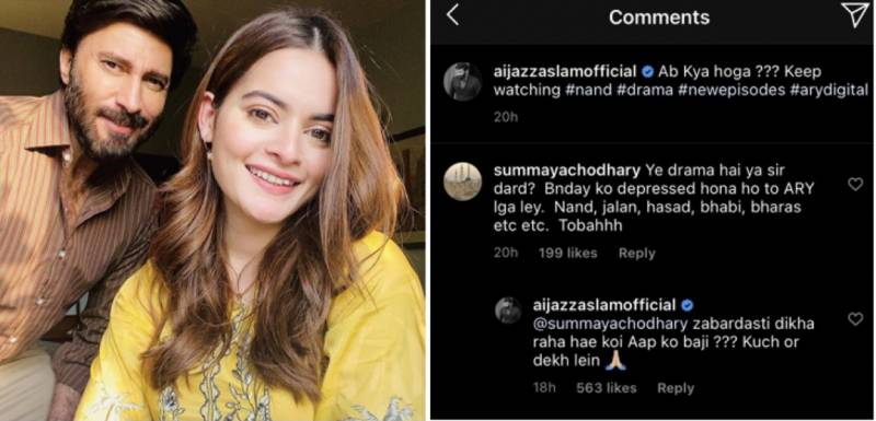 Nand: Aijaz Aslam claps back at haters passing negative comments