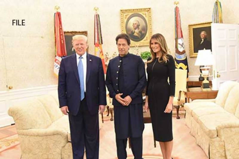 PM Imran wishes US President Trump, First Lady Melania speedy recovery from COVID-19