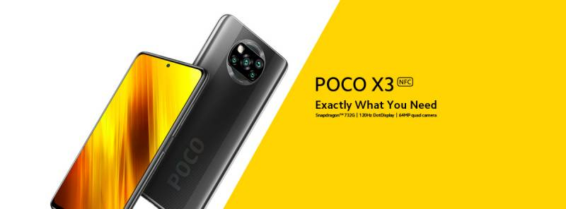 Poco X3 NFC with 64MP AI quad-camera system, snapdragon 732G launched in Pakistan