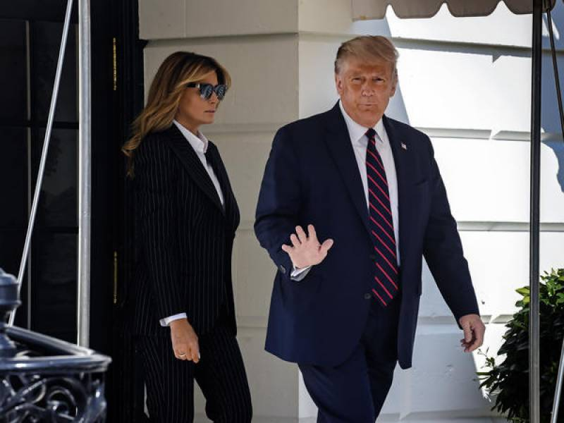 US President Trump, First Lady Melania test positive for Covid-19