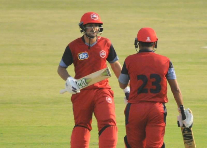 National T20 — Haider Ali fined for showing dissent at umpire's decision